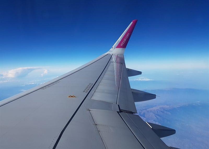 מטוס כנף מטוס שמיים עננים