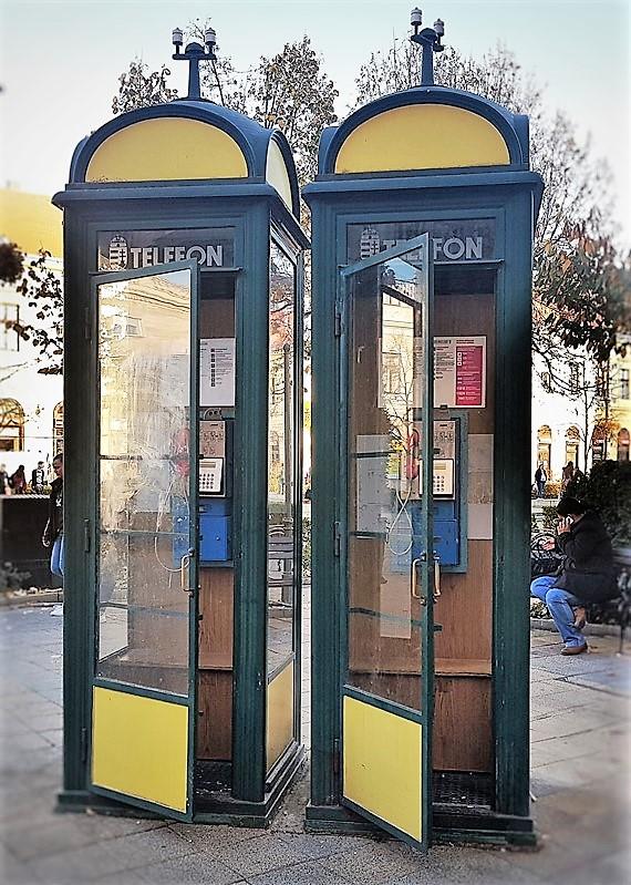 תא טלפון טלפון ציבורי